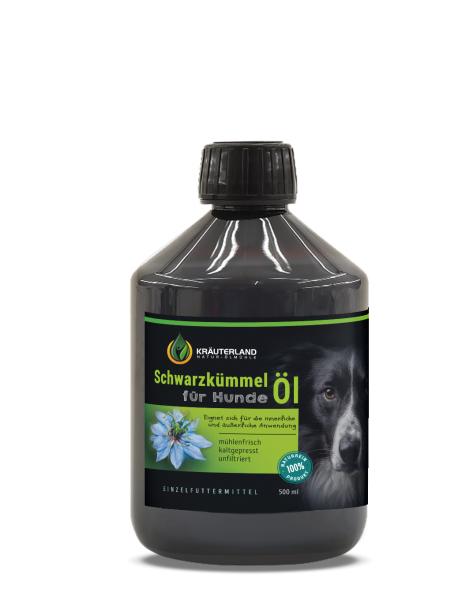 Schwarzkümmelöl für Hunde 500ml