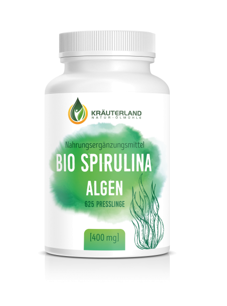 Bio Spirulina Algen 625 Presslinge
