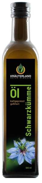 Schwarzkümmelöl gefiltert 500ml