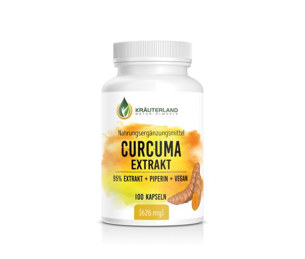 Curcuma Kapseln, vegan 100 Stück