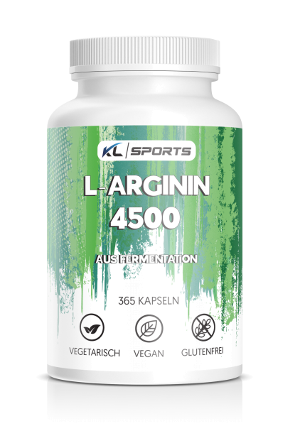 L-Arginin Kapseln, vegan 365 Stück