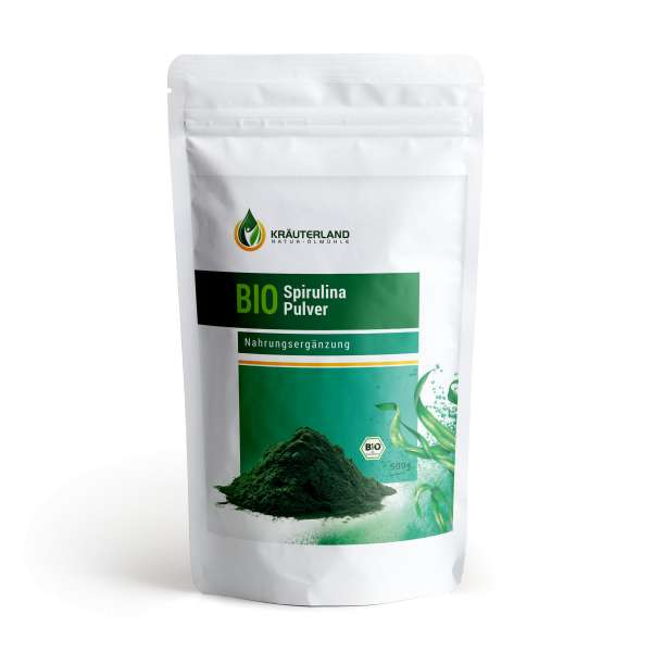 Bio Spirulina Pulver 500g