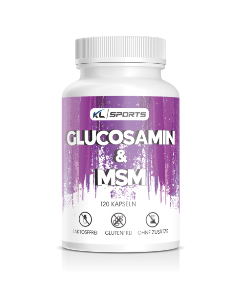 Glucosamin & MSM Kapseln 120 Stück
