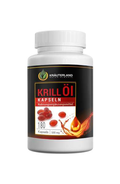 Krillöl-Kapseln 180 Stück