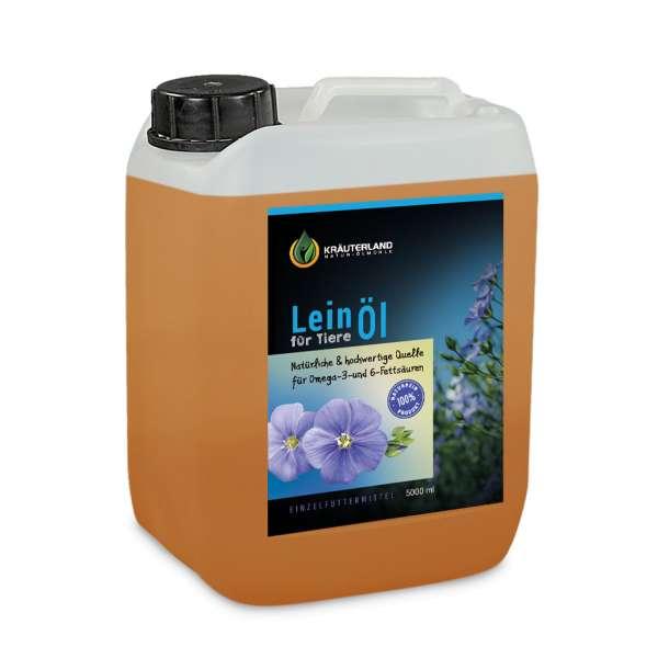 Leinöl für Tiere 5L
