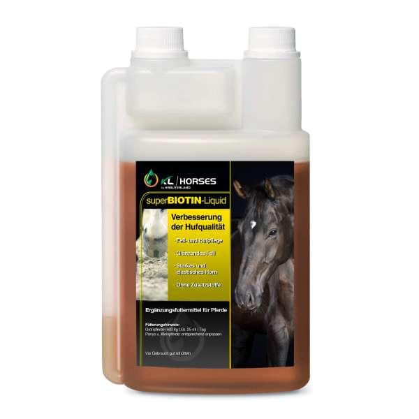 Super Biotin Liquid für Pferde 1000ml
