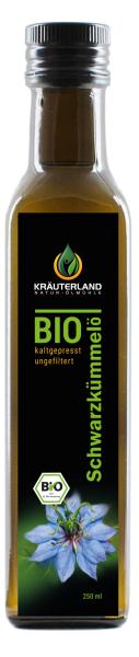 Bio Schwarzkümmelöl ungefiltert 250ml
