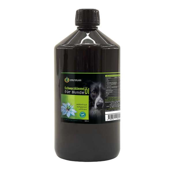 Schwarzkümmelöl für Hunde 1000ml